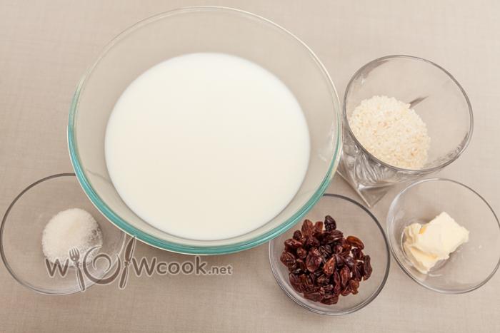 рисовая каша ингредиенты