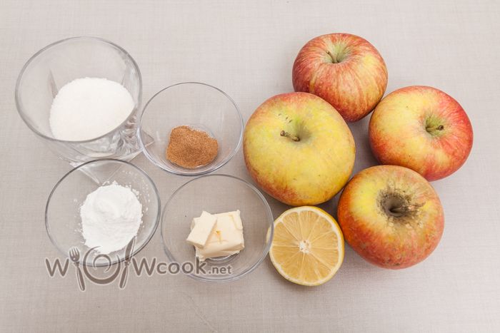 яблочный пай ингредиенты