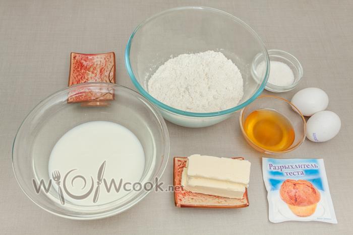 ингредиенты для панкейков