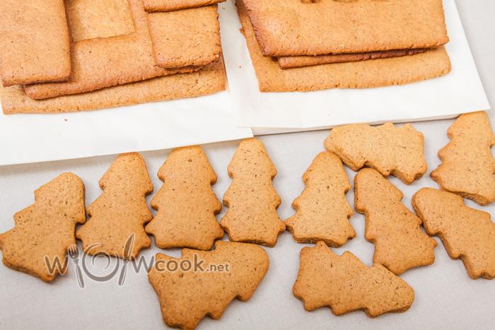 из остатков выпекаем печенье