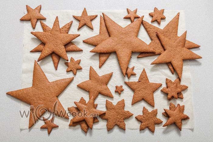 все звезды и снежинки