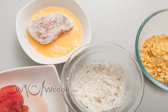 тунец в яйцах