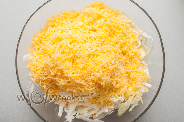 сыр трем мелко