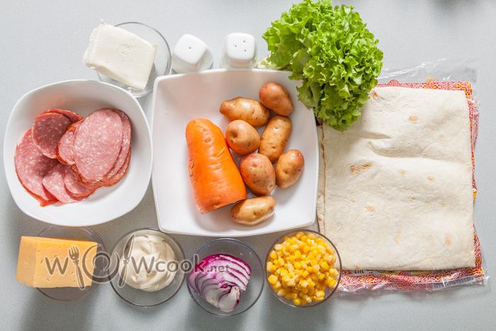 закуска с лавашом ингредиенты