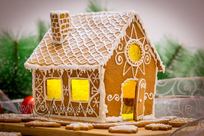 Пряничный домик, рецепт с фото пошагово