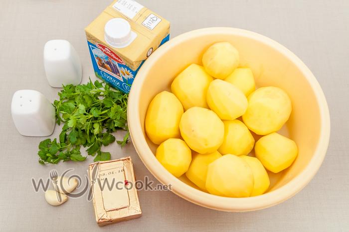 ингредиенты для пюре