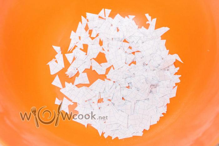 нарезаем бумагу