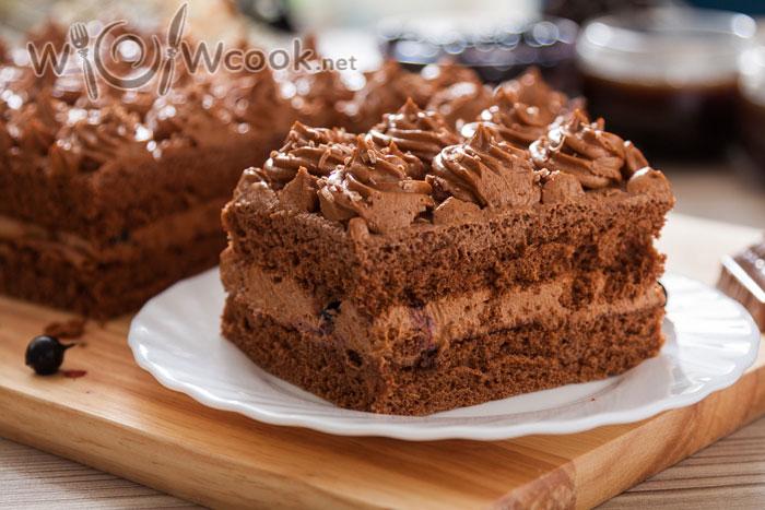 шоколадный торт очень вкусный и простой рецепт