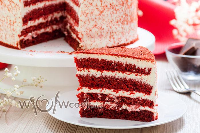 классический рецепт торта красный бархат