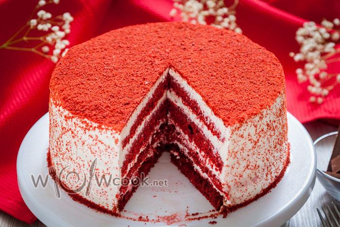 Торт красный бархат, рецепт с фото