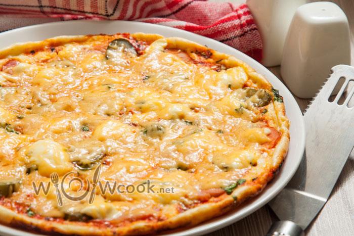 самая быстрая пицца, рецепт с фото