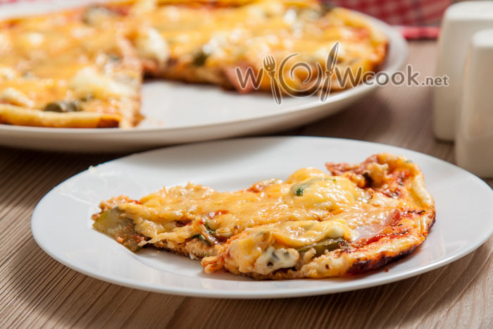 самая быстрая и вкусная пицца