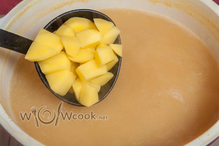 Гороховый суп с орехами, пошаговый рецепт с фото