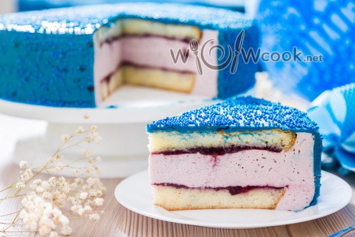 бисквитный торт с йогуротом