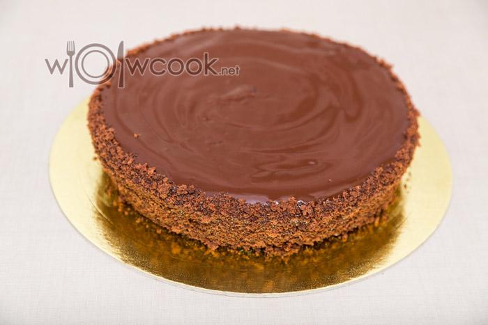 Торт Пьяная вишня, пошаговый рецепт с фото