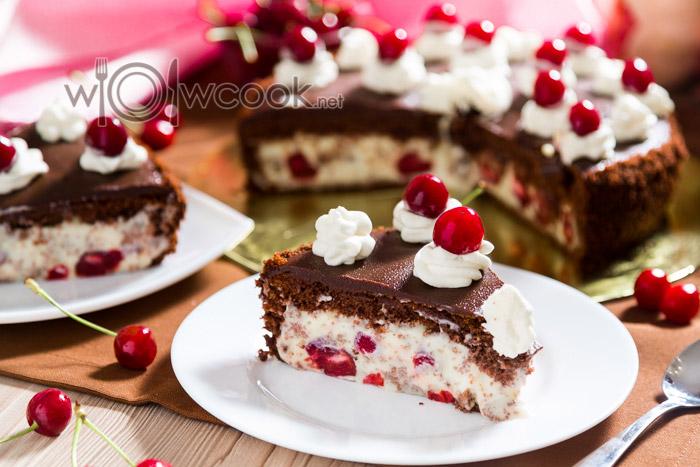 торт пьяная вишня классический рецепт с фото