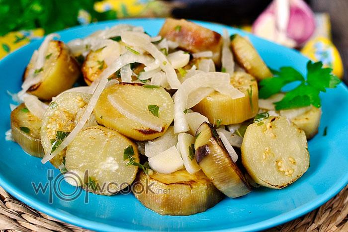салат баклажаны как грибы