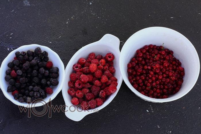 ягоды ассорти