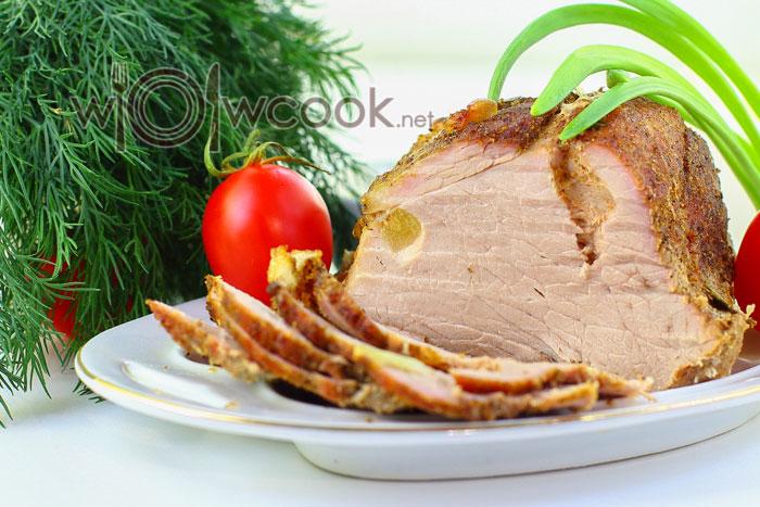Буженина из свинины в духовке в фольге