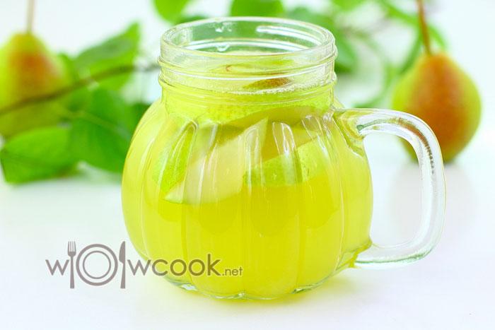 грушевый лимонад рецепт