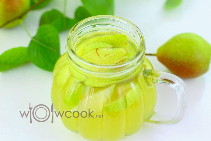 лимонад из груш