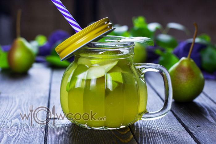 Грушевый лимонад в домашних условиях