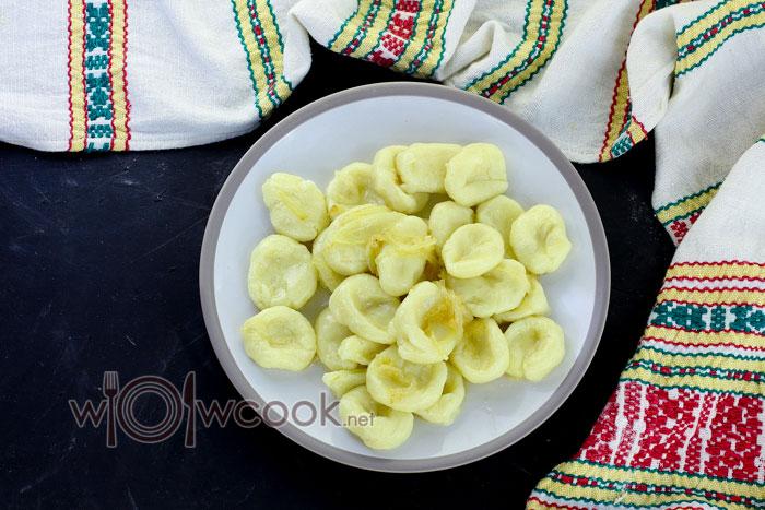 готовые ленивые вареники из картошки