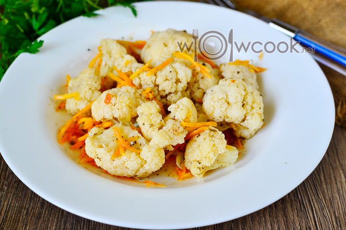 рецепт маринованной цветной капусты по-корейски с фото
