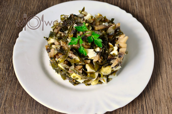 как приготовить вкусный салат с жареными грибами