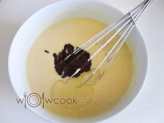 добавить какао в тесто