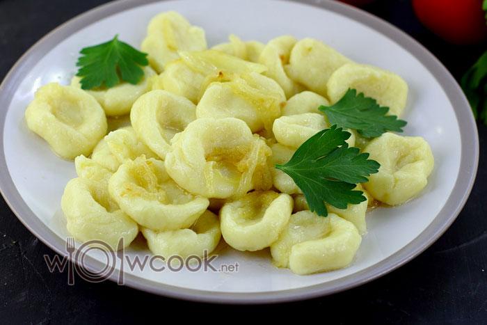 ленивые вареники с картошкой рецепт с фото