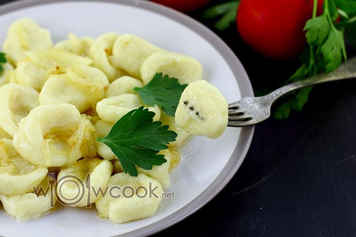 ленивые вареники с картошкой пошагово с фото