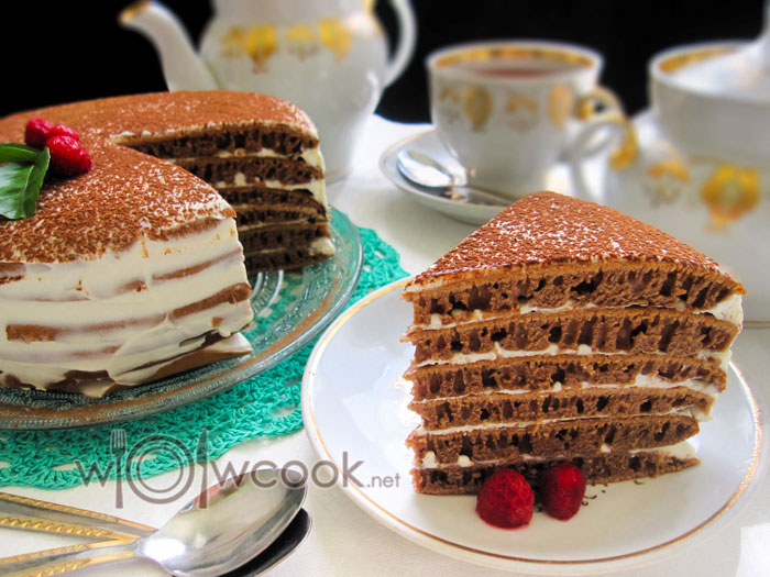 готовим дома шоколадный торт на сковороде пошагово с фото