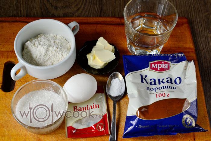 ингредиенты для кекса в микроволновке за 5 минут