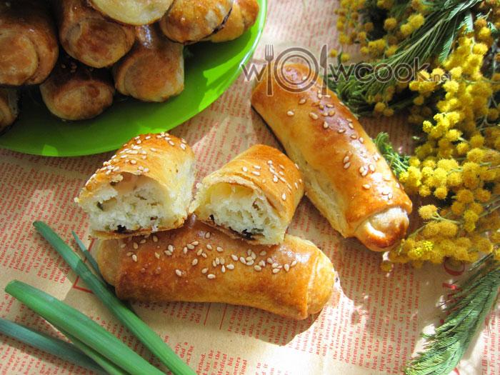 пирожки из бездрожжевого теста рецепт с фото