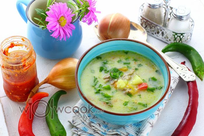 суп из куриных шеек рецепт