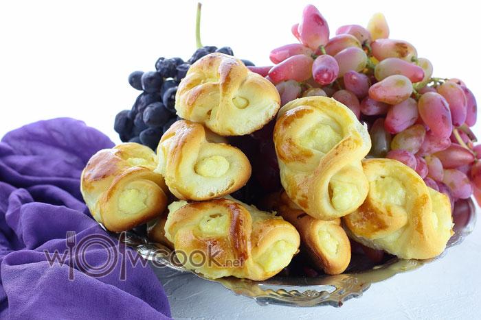 Рецепт пирожки с творогом в духовке