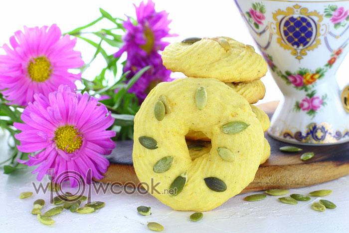 тыквенное печенье рецепт