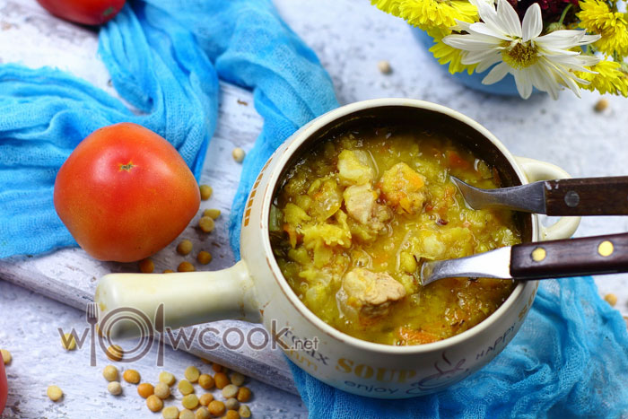 гороховая каша рецепт пошаговый с фото