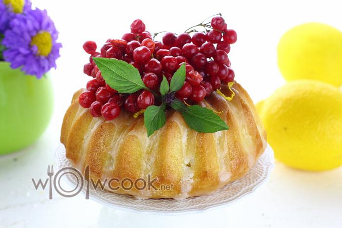 лимонный кекс рецепт с фото