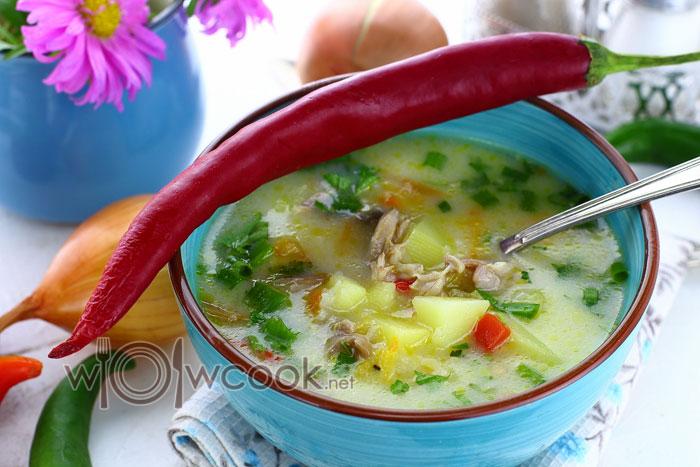суп из куриных шеек рецепт с фото