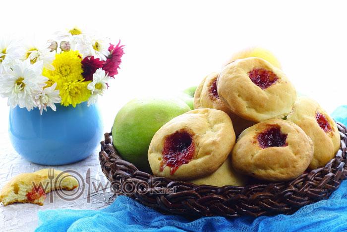 Ленивые пирожки в духовке, пошаговый рецепт