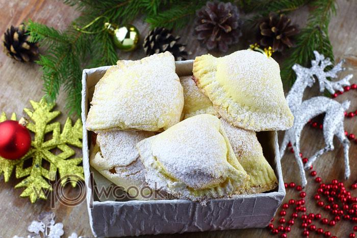 печенье сугробы просто и вкусно