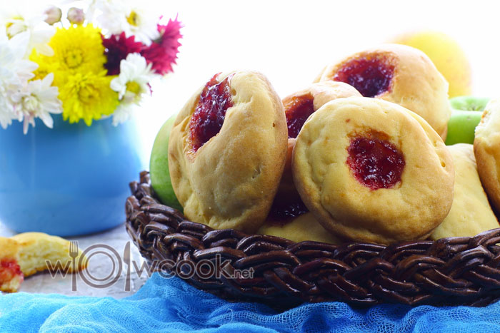пирожки с вареньем в духовке пошаговый рецепт