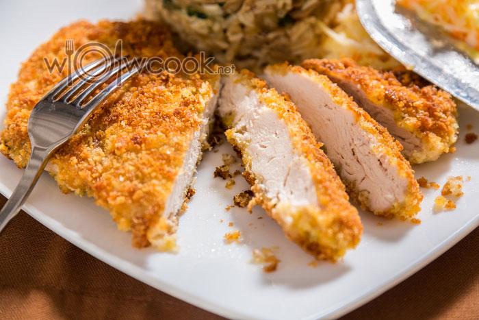 курица в панировке на сковороде рецепт