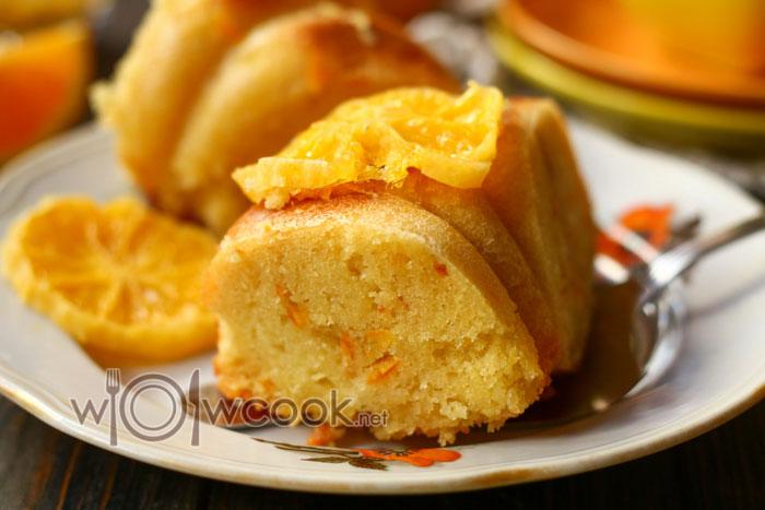 Рецепт кекса с апельсиновой цедрой