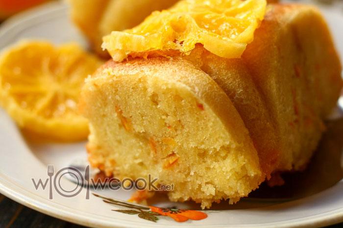 Кекс с апельсиновой цедрой рецепт