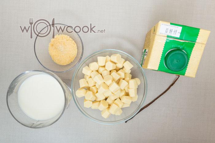 ингредиенты для ванильного мусса