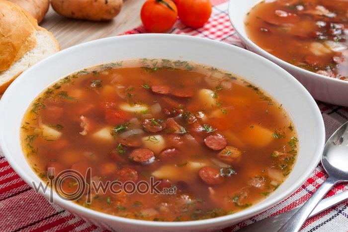 рецепт фасолевого супа из консервированной фасоли