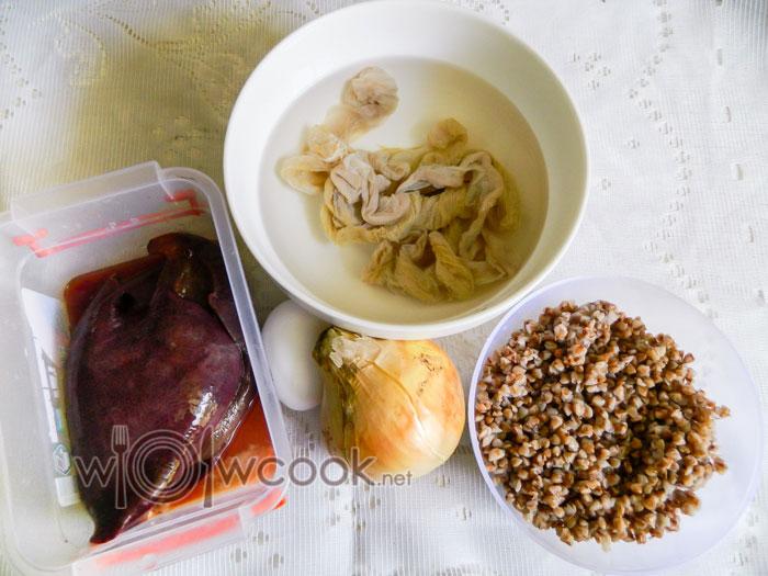 ингредиенты для печеночной колбасы